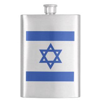 Israeli flag Flask