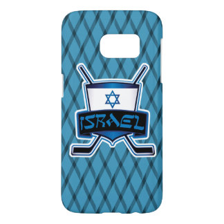 Israeli Ice Hockey Flag Phone Cover