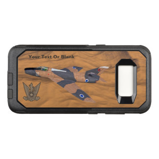 Israeli Super Mystère Over The Desert OtterBox Commuter Samsung Galaxy S8 Case