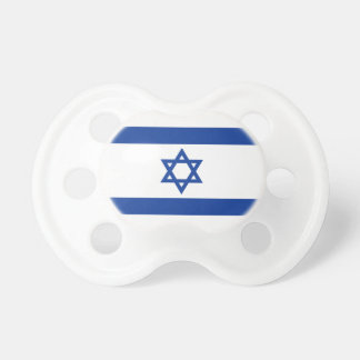 Israelian flag of Israel baby pacifier