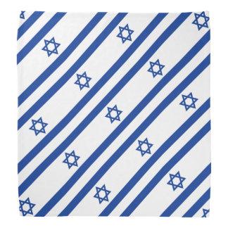 Israelian flag of Israel pattern bandana