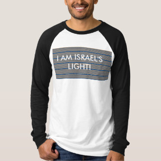 ISRAEL'S LIGHT - MEN PULL-OVER SHIRT