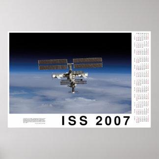ISS 2007 Calendar Poster