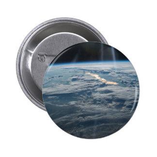 ISS-47 Lake Balkhash, eastern Kazakhstan 2 Inch Round Button