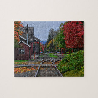 Issaquah Train Station Jigsaw Puzzle