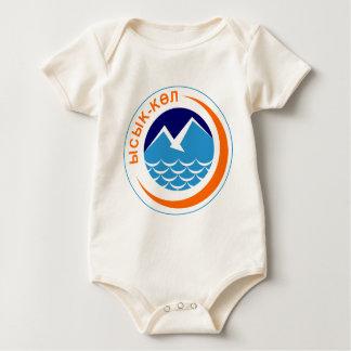 Issyk_kul_obl_coa Baby Bodysuit