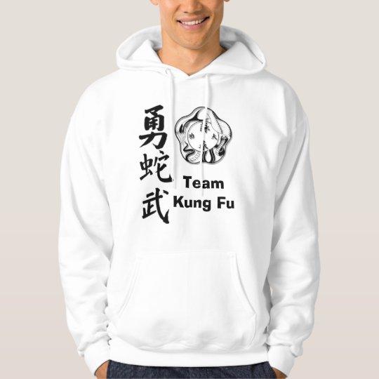 ist1_716514_bravery_in_chinese, TeamKung Fu Hoodie