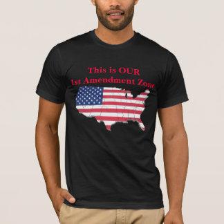 Ist Amendment Zone T-Shirt