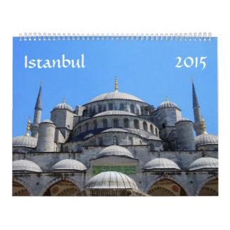 Istanbul 2015 Calendar