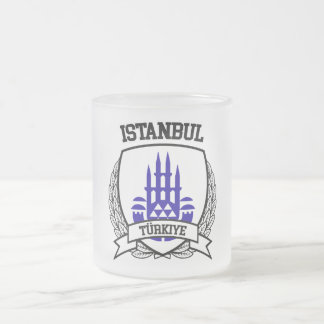 Istanbul Frosted Glass Coffee Mug