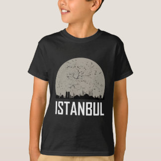 Istanbul Full Moon Skyline T-Shirt