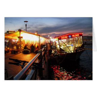 Istanbul Night Card