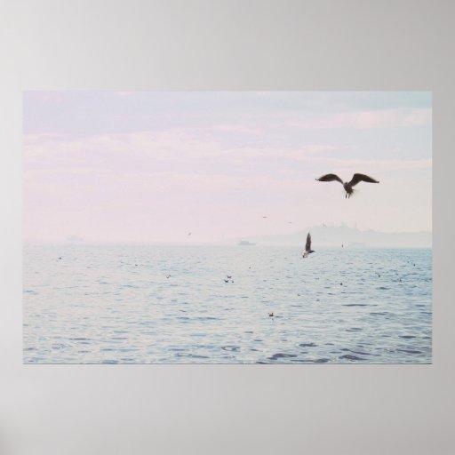 Istanbul photography Water print Minimalist photo