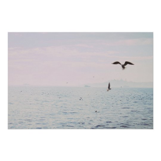 Istanbul photography Water print Minimalist photo