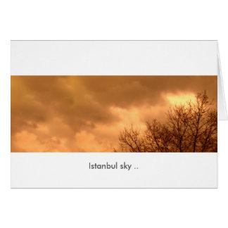 Istanbul sky Card