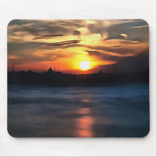 Istanbul Skyline Mouse Pad