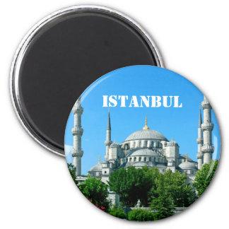 Istanbul, Turkey 2 Inch Round Magnet
