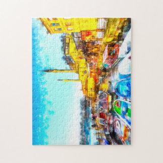 Istanbul Turkey Art Jigsaw Puzzle