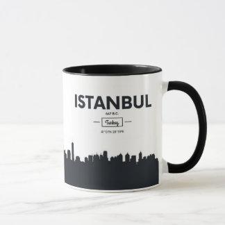 Istanbul, Turkey | City Coordinates Mug