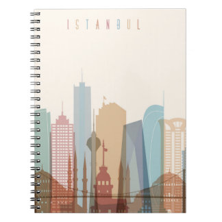 Istanbul, Turkey | City Skyline Notebook