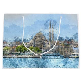 Istanbul Turkey Large Gift Bag