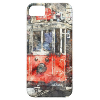 Istanbul Turkey Red Trolley iPhone 5 Case