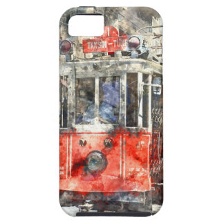 Istanbul Turkey Red Trolley iPhone 5 Cases