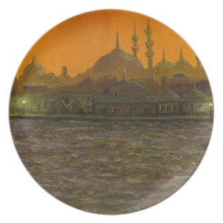 Istanbul Türkiye / Turkey Dinner Plates
