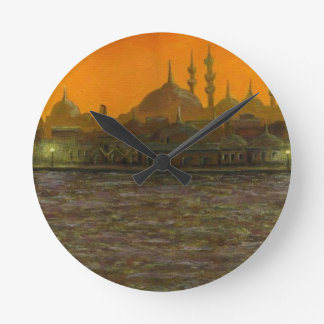 Istanbul Türkiye / Turkey Round Clock