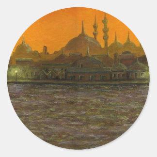 Istanbul Türkiye / Turkey Round Sticker