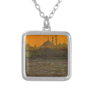 Istanbul Türkiye / Turkey Silver Plated Necklace