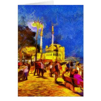 istanbul van gogh card