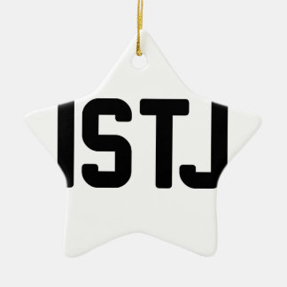 ISTJ CERAMIC ORNAMENT