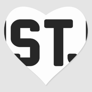 ISTJ HEART STICKER
