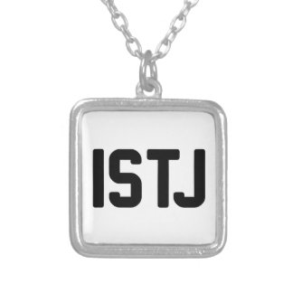 ISTJ SILVER PLATED NECKLACE