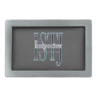 ISTJ theInspector Rectangular Belt Buckle