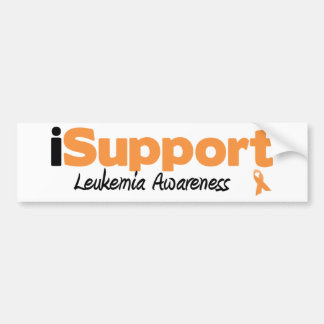 iSupport Leukemia Bumper Sticker
