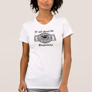 It´all about… Benjamin Franklin T-shirt Women