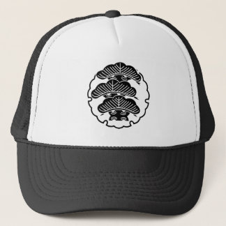 It appears in the snow wheel, three floor pine trucker hat