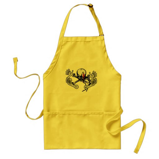 it becomes bald small apron