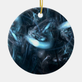 It Came From Science Fiction Round Ceramic Ornament