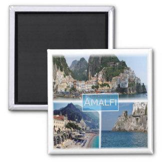 IT * Campania - Amalfi Square Magnet