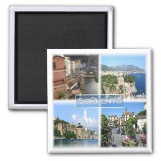 IT * Campania - Sorrento Amalfi Coast Italy Square Magnet