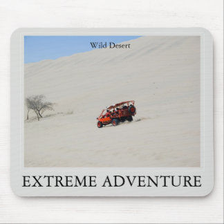 IT CARRIES FAR ADVENTURE, Wild Desert Mouse Pad