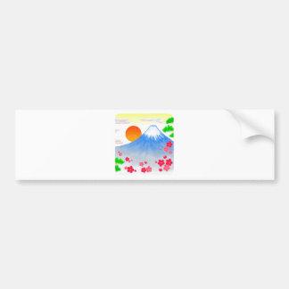It comes with Mt.Fuji Mt. Fuji, light Bumper Sticker