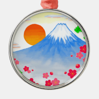 It comes with Mt.Fuji Mt. Fuji, light Metal Ornament