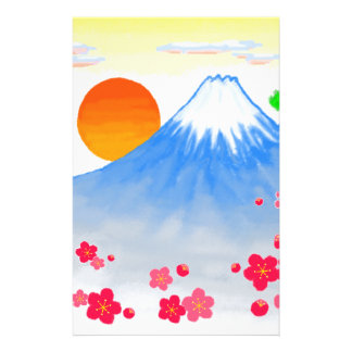It comes with Mt.Fuji Mt. Fuji, light Stationery