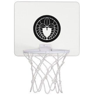 It descends to the circle, the rattan mini basketball hoop