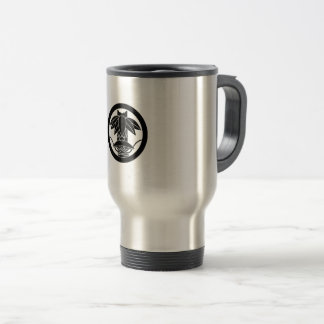 It finishes to change to the circle, in the bamboo travel mug