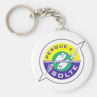 It fishes and It frees Keychain